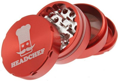 Headchef 50mm 4 Part Red